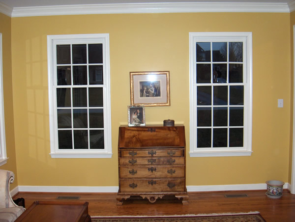 Before Window Treatments