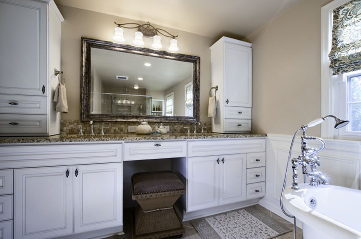 Portfolio elegant interior designs philadelphia for Bathroom vanities washington ave philadelphia